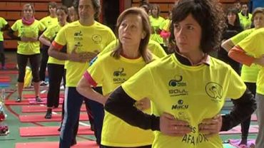 Pilates solidario a beneficio de AFANION en el mes de marzo