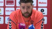 Rafa Gálvez podría repetir como titular ante el Numancia