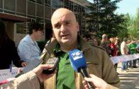 Protesta contra 60 plazas sin cubrir en centros educativos