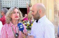 La Plaza Gabriel Lodares, testigo del 'Encuentro del Resucitado'