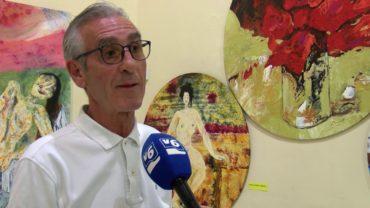 """Inaugurada la exposición de Angel Fernández  """"Mochy"""" en el Centro Cultural La Asunción"""