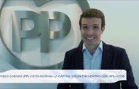 Pablo Casado (PP) visita mañana la capital en un encuentro con afiliados