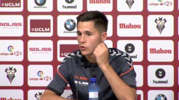 Álvaro Tejero aterriza en el Alba