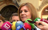 Cospedal vota en Albacete al futuro líder del Partido Popular