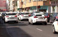Marcha lenta en Albacete en apoyo a la huelga de taxistas