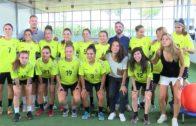 Paula Sancho se incorpora a los entrenamientos con el «Funda»