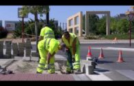 Trabajadores de la construcción y obras públicas afectados por el estrés térmico