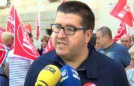 Concentración por unas #pensionesdignas en Albacete