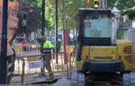 En marcha, las obras de peatonalización en las principales arterias