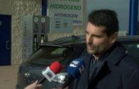 El Hyundai Nexo reposta en la estación de hidrógeno de AJUSA