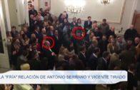 La «fría» relación de Antonio Serrano y Vicente Tirado