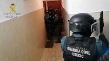 La Guardia Civil frena a una violenta banda que cometía robos en viviendas
