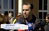 Trabajadores y sindicatos en la UCLM para protestar contra la contratación de empresas externas