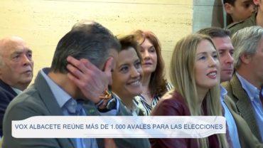 Vox Albacete reúne más de 1.000 avales para las elecciones