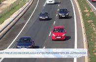 DGT prevé 350.000 desplazamientos por carretera en la provincia