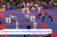 Las promesas del Kárate se exhiben con éxito en Albacete