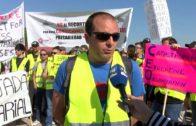 Huelga en Babcock en protesta de una rebaja salarial