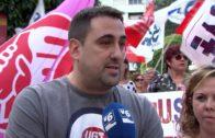 Nueva protesta laboral de la Residencia Núñez de Balboa en el centro de la capital