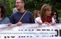 Periodistas de Albacete se concentran por la libertad de prensa