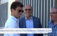Rubén Pinar visita Asprona para presentar la corrida de 2019