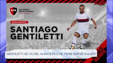 Gentiletti se va del Albacete y ya tiene nuevo equipo