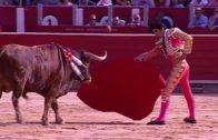 Susto y triunfo para Rubén Pinar en la corrida de Asprona