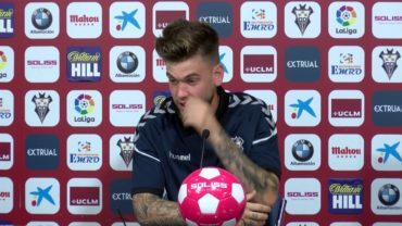 Álvaro Jiménez es jugador ya del Albacete Balompié