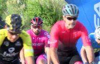 Aparatoso accidente que acabó con 8 ciclistas arrollados