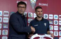 Dani Ojeda, presentado como nuevo jugador del Albacete Balompié