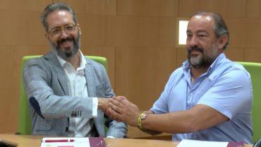 La UCLM y Quixote Innovation firman un convenio para impulsar la ciencia