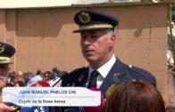 Pedro Enrique Belmonte, jefe de la base aérea y del Ala 14
