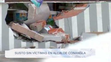 Susto sin víctimas en Alcalde Conangla