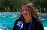 Marta Carmona, del Club Natación Albacete,  subcampeona de España en 1500 metros libres