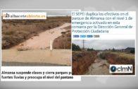 El temporal se ceba con Almansa y deja dos fallecidos en Caudete