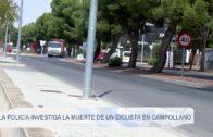 La policía investiga la muerte de un ciclista en Campollano
