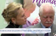 18.000 euros solidarios para AECC, Cruz Roja y FEDER