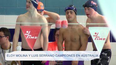Eloy Molina y Luis Serrano campeones en Australia