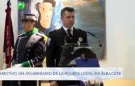 Emotivo 165 aniversario de la policía local de Albacete