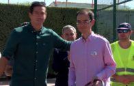Guillermo García López hizo entrega de los premios de su torneo
