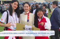 La albaceteña Ming Andrea Jang bronce en Corea del Sur