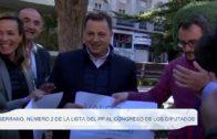 Serrano, número 2 de la lista del PP al Congreso de los Diputados