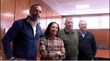 Rafael Lomana y Mazaly Aguilar se reúnen con Asaja
