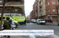 Accidente de tráfico en Hermanos Jiménez con Doctor Ferrán