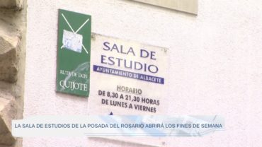 La Sala de Estudios de La Posada del Rosario abrirá los fines de semana