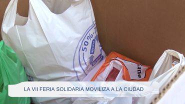 La VII Feria Solidaria moviliza a la ciudad