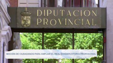 Moción de Ciudadanos para ampliar el Real Conservatorio Profesional