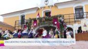 Encuentro folklorico en el Teatro Circo de Albacete