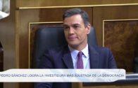 Pedro Sánchez logra la investidura más ajustada de la democracia