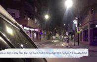 Aplausos infinitos en los balcones de Albacete para los sanitarios