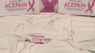 ACEPAIN dona 30.000 mascarillas para hacer frente al coronavirus